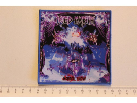 ICED EARTH - HORROR SHOW ( BLUE BORDER ) WOVEN DIFFERENT
