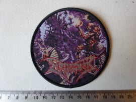 DISMEMBER - WHERE IRONCROSSES GROW ( BLACK BORDER ) WOVEN