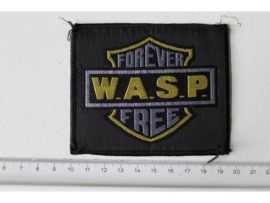 W.A.S.P. - FOREVER FREE ( ORIGINAL 1989 ) WOVEN