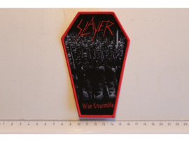 SLAYER - WAR ENSEMBLE ( RED BORDER ) WOVEN