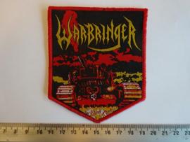 WARBRINGER - WAR WITHOUT END ( RED BORDER ) WOVEN