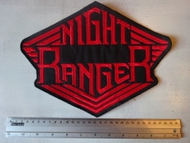 NIGHT RANGER - RED LOGO