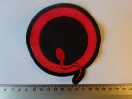 QUEENS OF THE STONE AGE - RED/BLACK LOGO