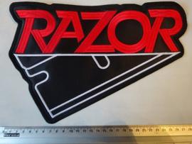 RAZOR - RED LOGO + BLACK BLADE