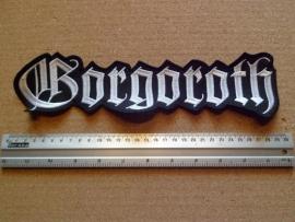 GORGOROTH - WHITE LOGO