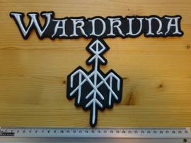 WARDRUNA - WHITE NAME LOGO + SYMBOL