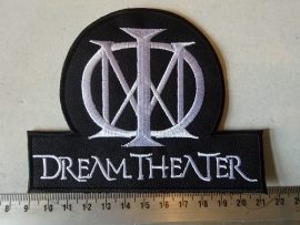 DREAM THEATER - WHITE NAME + LOGO