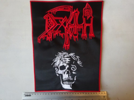 DEATH - SCREAM BLOODY GORE ( RED BORDER  ) BIG!