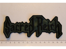 SACRED REICH - DARK GREEN/BLACK NAME LOGO
