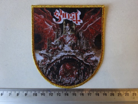 GHOST - PREQUELLE  ( GOLD GLITTER BORDER ) WOVEN