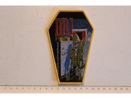 D.R.I. - DIRTY ROTTEN ( YELLOW BORDER ) WOVEN