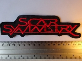 SCAR SYMMETRY - RED LOGO