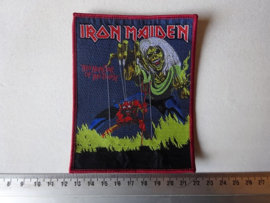 IRON MAIDEN - NUMBER OF THE BEAST RED BORDER