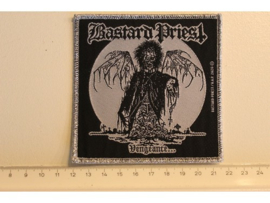 BASTARD PRIEST - VENGEANCE ( SILVER BORDER ) WOVEN