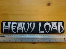 HEAVY LOAD - WHITE NAME LOGO