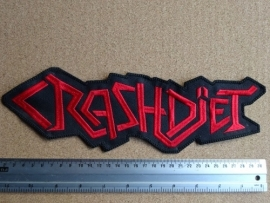 CRASHDÏET - RED LOGO