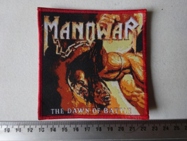 MANOWAR - THE DAWN OF BATTLE RED BORDER