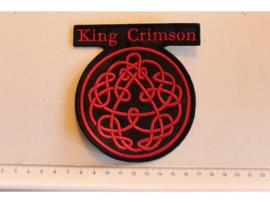 KING CRIMSON - RED NAME LOGO + SYMBOLS