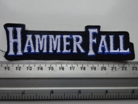 HAMMERFALL - WHITE/BLUE LOGO