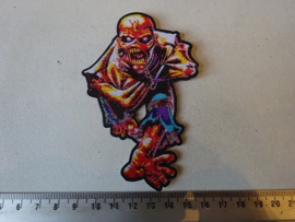 IRON MAIDEN - PIECE OF MIND SHAPED NUMBERED !