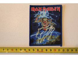 IRON MAIDEN - NORTH EUROPEAN TOUR ( BLUE BORDER ) WOVEN