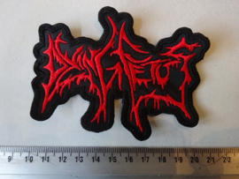 DYING FETUS - OLD LOGO RED