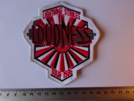 LOUDNESS - LIGHTNING STRIKES ( WHITE BORDER  )