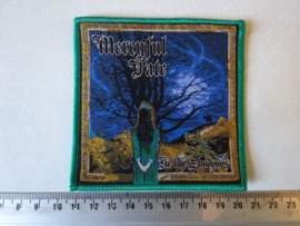 MERCYFUL FATE - IN THE SHADOWS ( GREEN BORDER ) WOVEN