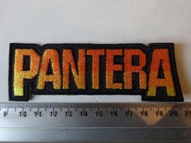 PANTERA - ORANGE/YELLOW NAME LOGO
