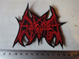 ENTHRONED - RED LOGO