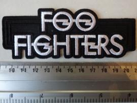 FOO FIGHTERS - WHITE NAME LOGO