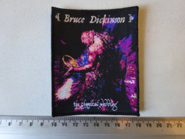 BRUCE DICKINSON - THE CHEMICAL WEDDING ( BLACK BORDER ) WOVEN