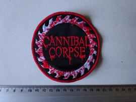 CANNIBAL CORPSE - BLOODY SAWBLADE LOGO