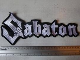 SABATON - WHITE LOGO
