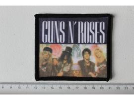 GUNS N ROSES - GROUP PHOTO ( ORIGINAL 80'S ) PRINT