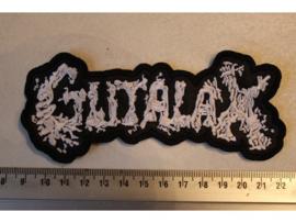 GUTALAX - WHITE NAME LOGO
