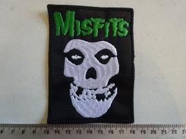 MISFITS - GREEN NAME + SKULL