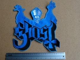 GHOST - BLUE/BLACK LOGO + PAPA EMIRITUS III