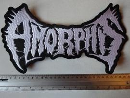 AMORPHIS - WHITE LOGO