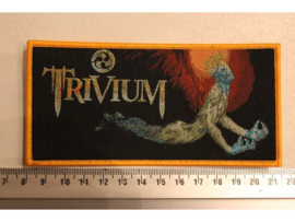 TRIVIUM - ASCENDENCY ( ORANGE BORDER ) WOVEN
