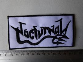 NOCTURNAL - BLACK NAME LOGO