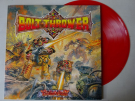 BOLT THROWER - REALM OF CHAOS ( RED VINYL ) + INLAY