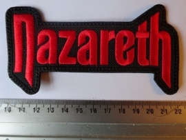 NAZARETH - RED LOGO