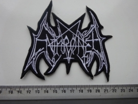 ENTHRONED - WHITE LOGO