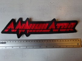 ANNIHILATOR - RED LOGO