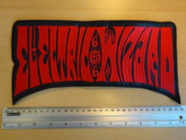 ELECTRIC WIZARD - RED NAME LOGO