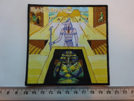 IRON MAIDEN - POWERSLAVE ( DIFFERENT ) WOVEN
