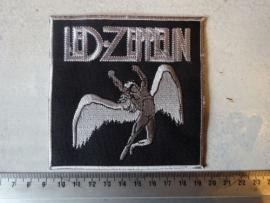 LED ZEPPELIN - GREY LOGO + SWAN
