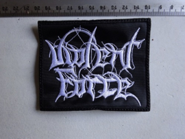 VIOLENT FORCE - WHITE NAME LOGO