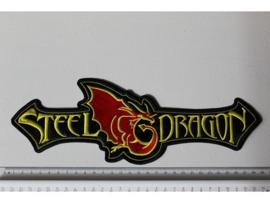 STEEL DRAGON - YELLOW/RED NAME LOGO